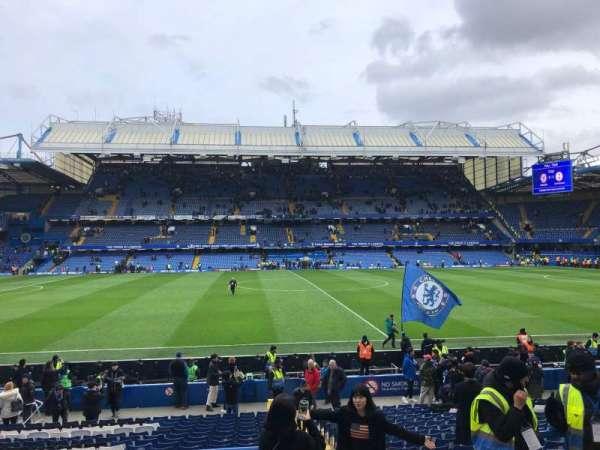 Stamford Bridge, Abschnitt: West Stand Lower 5, Reihe: 23, Platz: 134