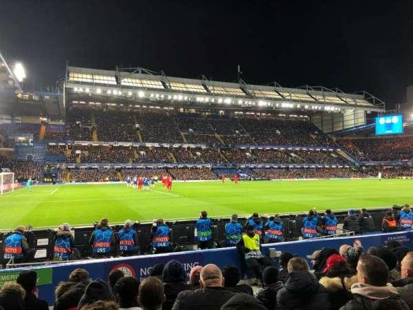 Stamford Bridge, Abschnitt: West Stand Lower 8, Reihe: 8, Platz: 201
