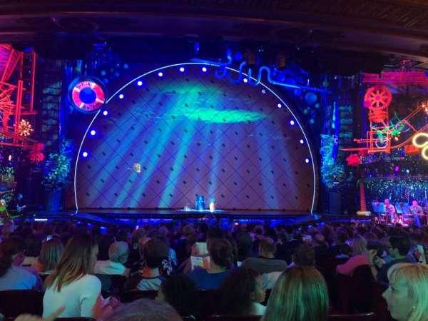 Palace Theatre (Broadway), Abschnitt: Orchestra, Reihe: R, Platz: 103