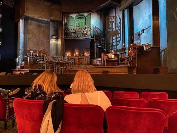 Walter Kerr Theatre, Abschnitt: Orchestra R, Reihe: F, Platz: 6