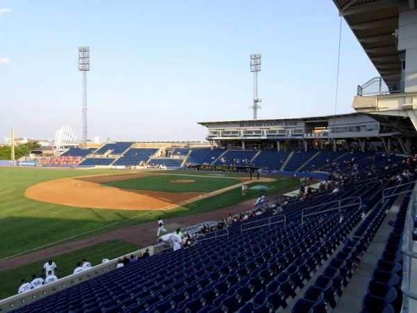 Richmond County Bank Ballpark, Bereich: 3, Reihe: 1C, Platz: 6