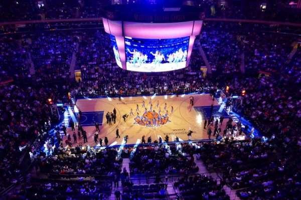 Madison Square Garden, Abschnitt: 313, Reihe: 1, Platz: 4