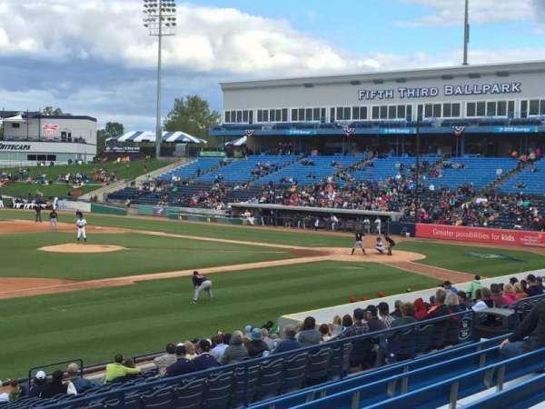 Fifth Third Ballpark, Abschnitt: 225, Reihe: 16, Platz: 1