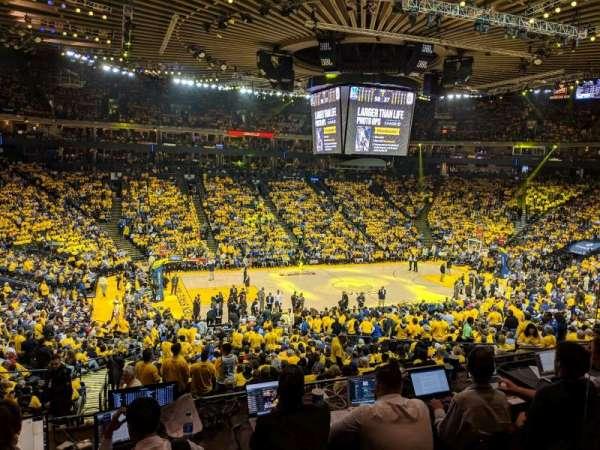 Oakland Arena, Abschnitt: C11, Reihe: 2, Platz: 2