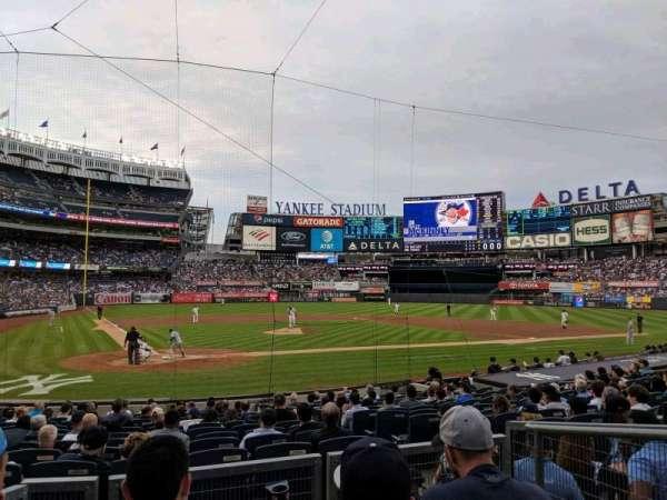 Yankee Stadium, Abschnitt: 118, Reihe: 4, Platz: 3