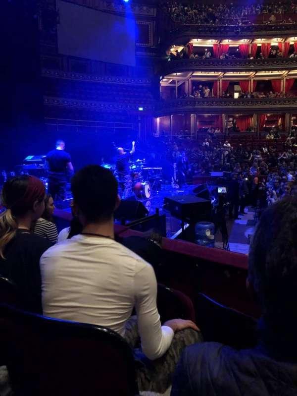 Royal Albert Hall, Abschnitt: G, Reihe: 3, Platz: 8