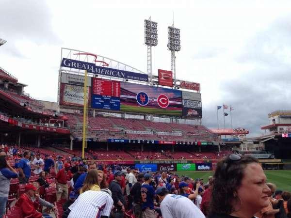 Great American Ball Park, Abschnitt: 115, Reihe: H, Platz: 12