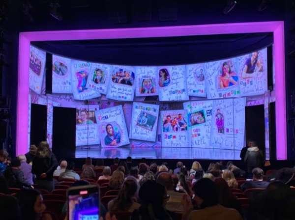 August Wilson Theatre, Abschnitt: Orchestra C, Reihe: Q, Platz: 103
