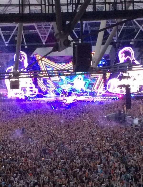 London Stadium, Abschnitt: 253, Reihe: 71, Platz: 787