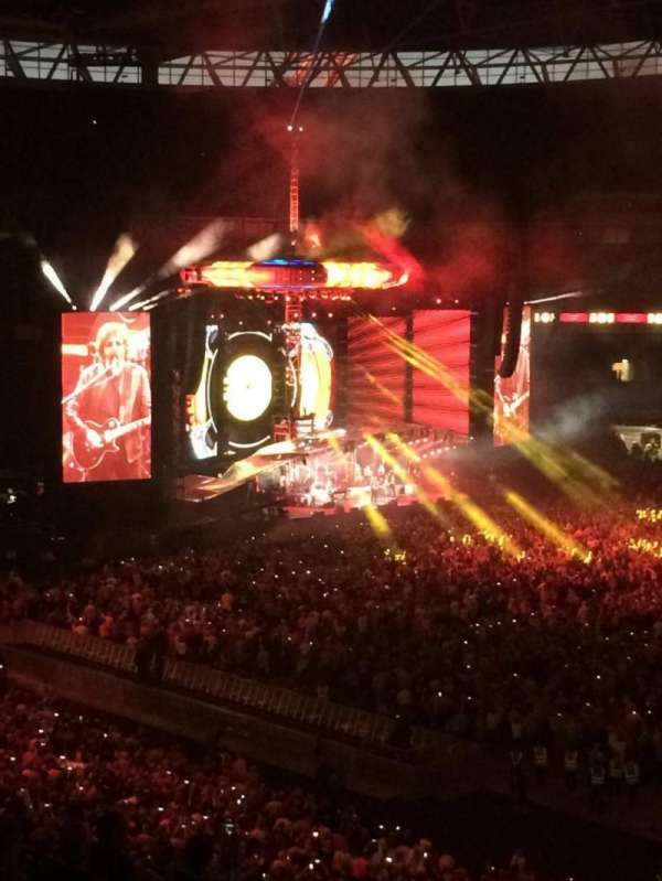 Wembley Stadium, Abschnitt: 225, Reihe: 10, Platz: 256
