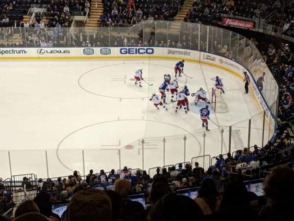 Madison Square Garden, Abschnitt: 213, Reihe: 9, Platz: 6