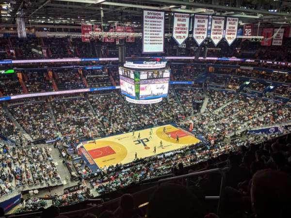 Capital One Arena, Abschnitt: 431, Reihe: M, Platz: 21