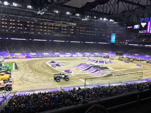 Ford Field, Abschnitt: 226, Reihe: 2, Platz: 25
