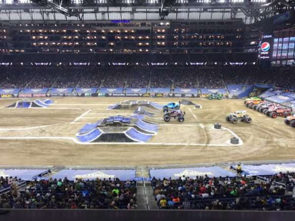 Ford Field, Abschnitt: 232, Reihe: 1, Platz: 15