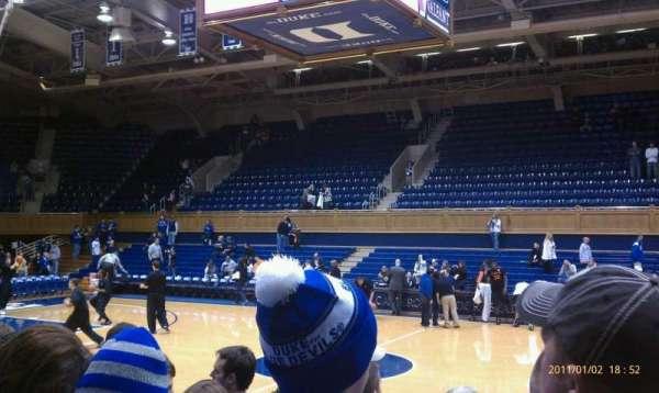 Cameron Indoor Stadium, Abschnitt: 17, Reihe: GA