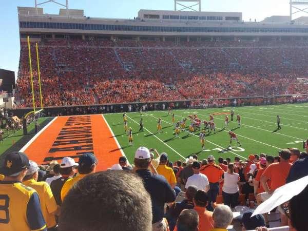 Boone Pickens Stadium, Abschnitt: 227, Reihe: 2, Platz: 8