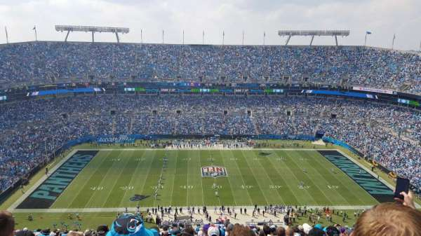 Bank of America Stadium, Abschnitt: 515, Reihe: 31, Platz: 22