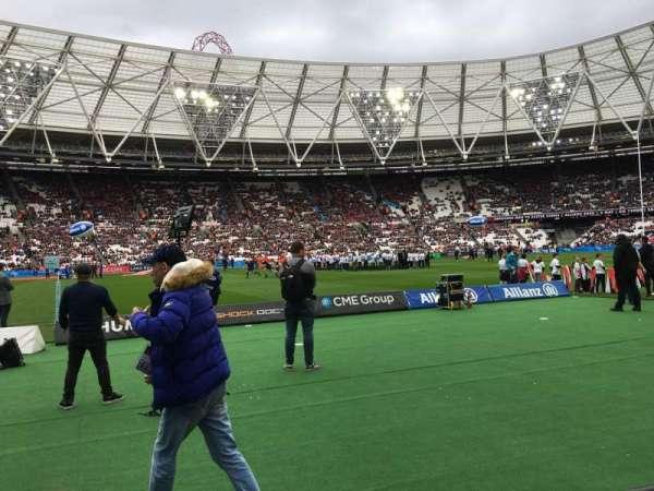 London Stadium, Abschnitt: 106, Reihe: 2, Platz: 356