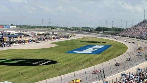 Chicagoland Speedway, Abschnitt: 422, Reihe: 28, Platz: 5