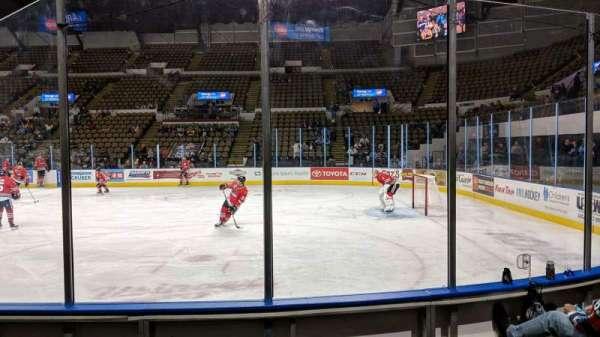 UW-Milwaukee Panther Arena, Abschnitt: 205, Reihe: 4, Platz: 4