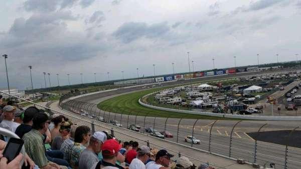 Chicagoland Speedway, Abschnitt: 442, Reihe: 28, Platz: 12