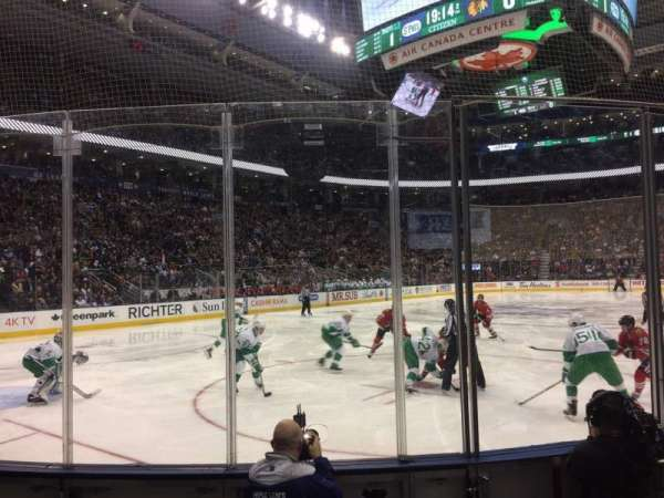 Scotiabank Arena, Abschnitt: 112, Reihe: 7, Platz: 4
