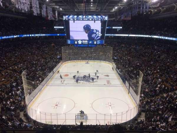 Scotiabank Arena, Abschnitt: 303, Reihe: 6, Platz: 5