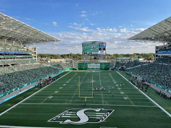 Mosaic Stadium, Bereich: 226, Reihe: 13, Platz: 1