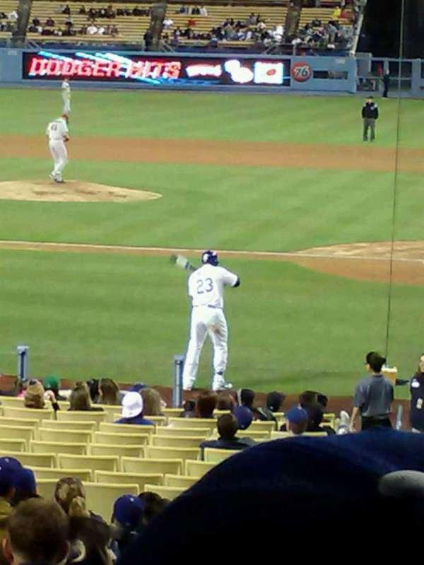 Dodger Stadium, Abschnitt: 9FD, Reihe: S, Platz: 2