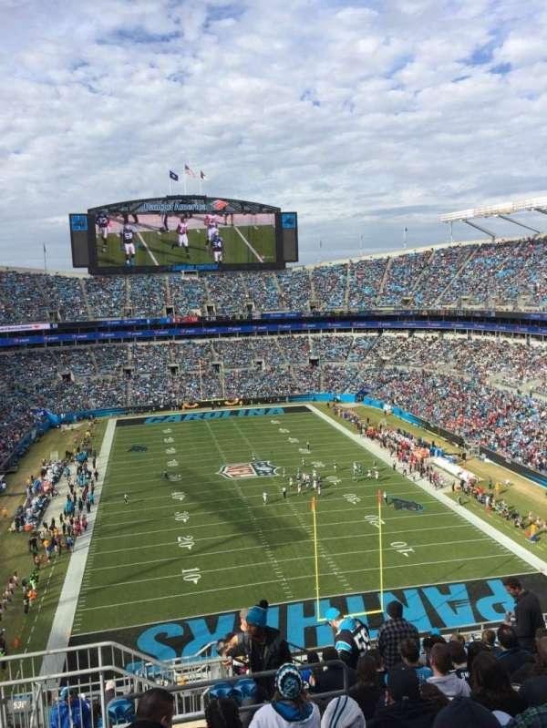 Bank of America Stadium, Abschnitt: 529, Reihe: 11, Platz: 24