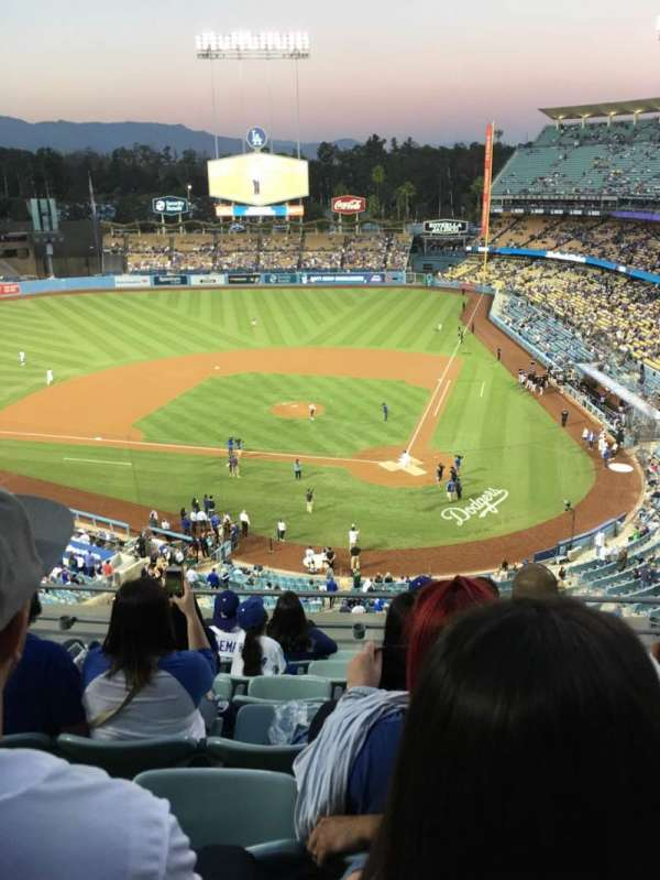 Dodger Stadium, Abschnitt: 7td, Reihe: G, Platz: 13