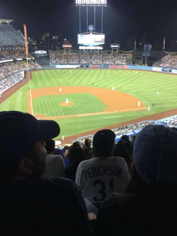 Dodger Stadium, Abschnitt: 8RS, Reihe: L, Platz: 10