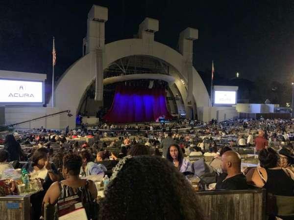 Hollywood Bowl, Abschnitt: Terrace Box 1464, Reihe: 6