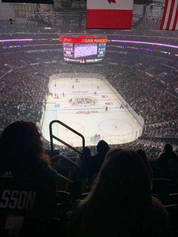 Staples Center, Abschnitt: 327, Reihe: 5, Platz: 11