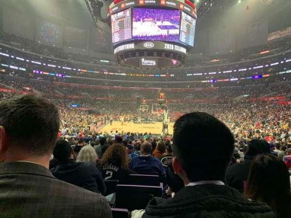 Staples Center, Abschnitt: 116, Reihe: 10, Platz: 6