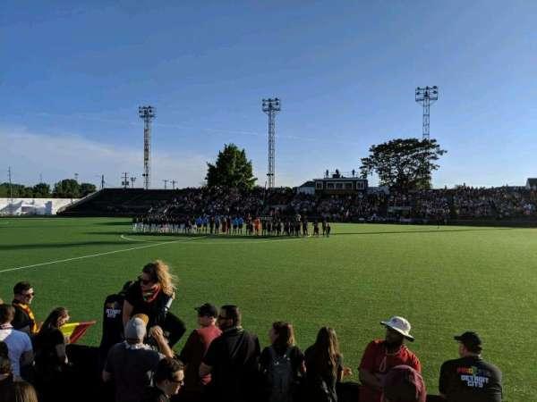 Keyworth Stadium, Abschnitt: Supporters Section