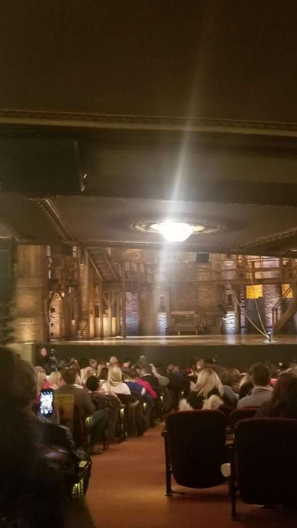 CIBC Theatre, Abschnitt: Orchestra L, Reihe: ZZ, Platz: 2