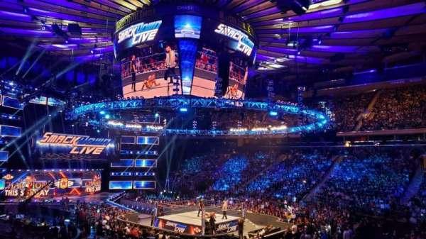 Madison Square Garden, Abschnitt: 119, Reihe: 14, Platz: 12