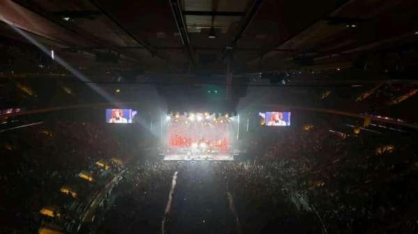 Madison Square Garden, Abschnitt: 305, Reihe: 1, Platz: 3