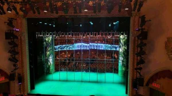John Golden Theatre, Abschnitt: Front Mezzanine R, Reihe: D, Platz: 106