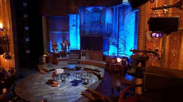 Walter Kerr Theatre, Abschnitt: Box A, Reihe: 1, Platz: 7