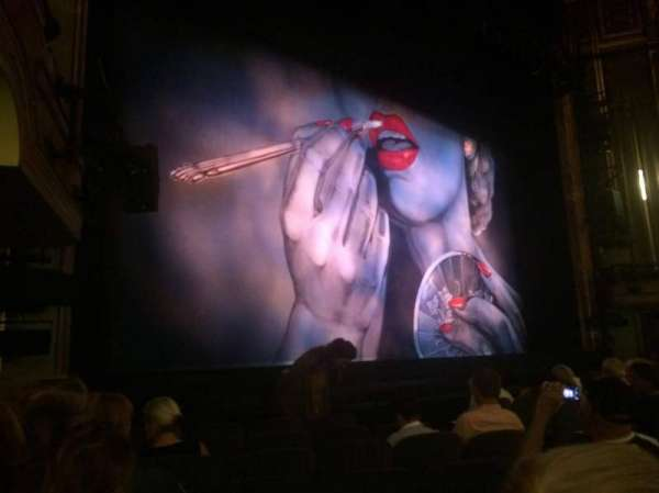 Nederlander Theatre, Abschnitt: ORCH LEFT, Reihe: L, Platz: 17