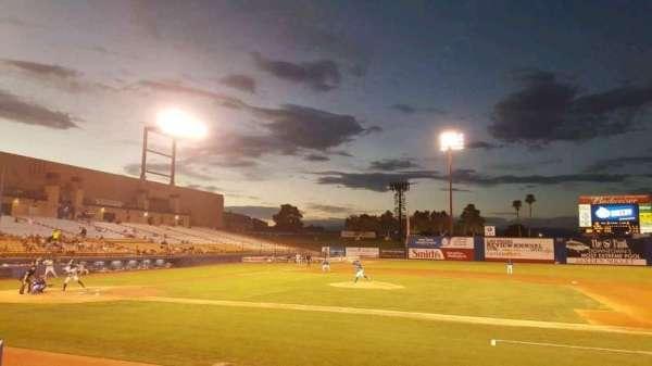 Cashman Field, Abschnitt: 17, Reihe: C, Platz: 9