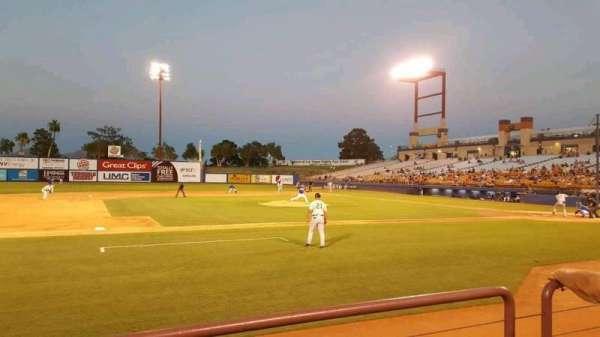 Cashman Field, Abschnitt: 6, Reihe: B, Platz: 1