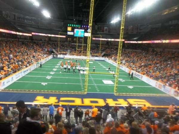 Spokane Arena, Bereich: 122, Reihe: S, Platz: 16