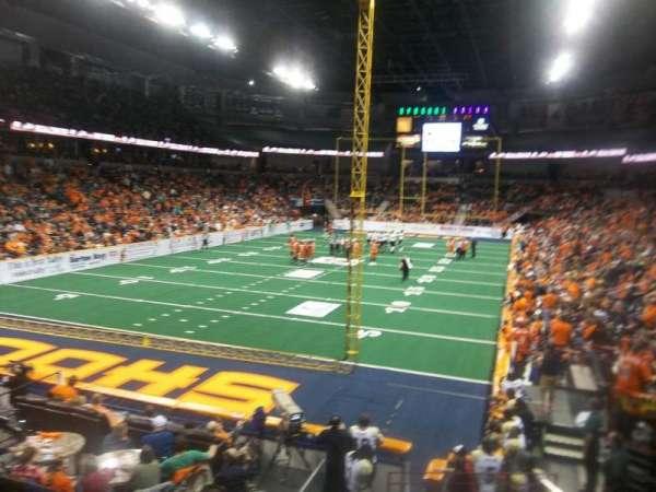 Spokane Arena, Bereich: 123, Reihe: T, Platz: 4