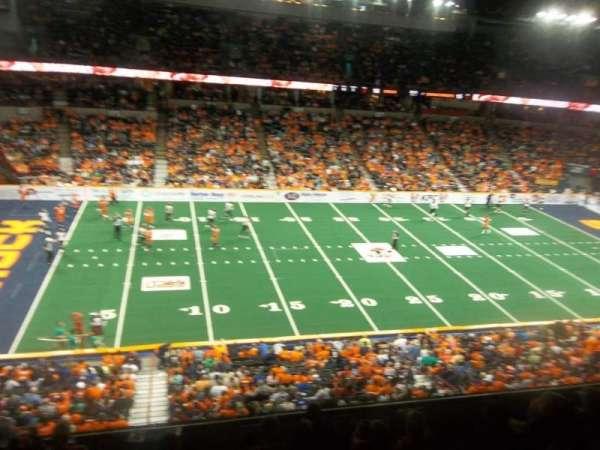 Spokane Arena, Bereich: 215, Reihe: M, Platz: 18