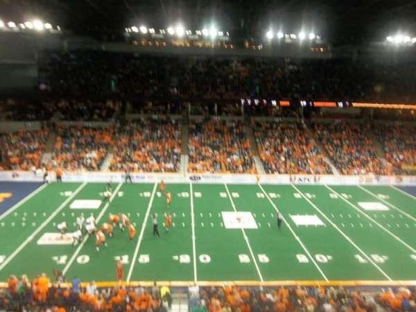 Spokane Arena, Bereich: 216, Reihe: M, Platz: 17