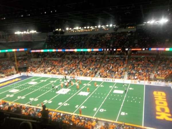Spokane Arena, Bereich: 218, Reihe: L, Platz: 2