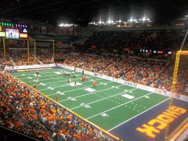 Spokane Arena, Bereich: 220, Reihe: L, Platz: 23